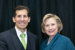 john-shegerian-and-hillary-clinton