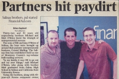 FinancialAid.com Newspaper Article