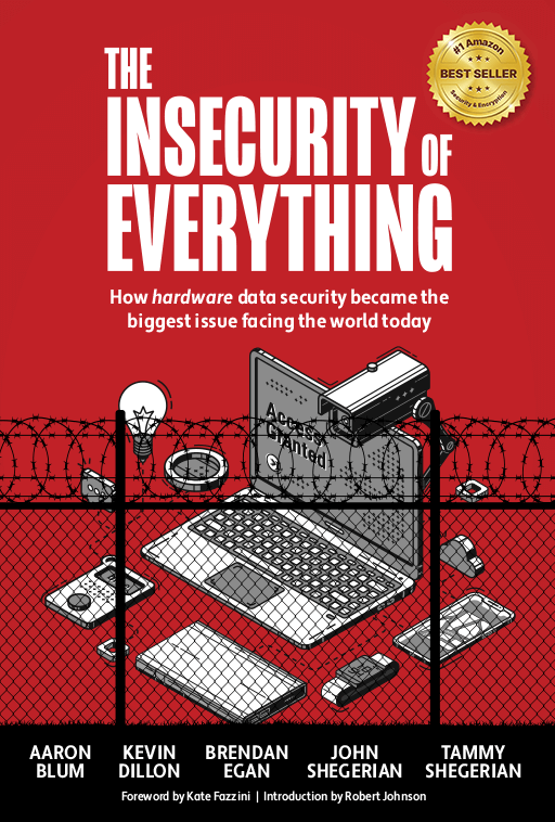 Cover of The Insecurity of Everything book.